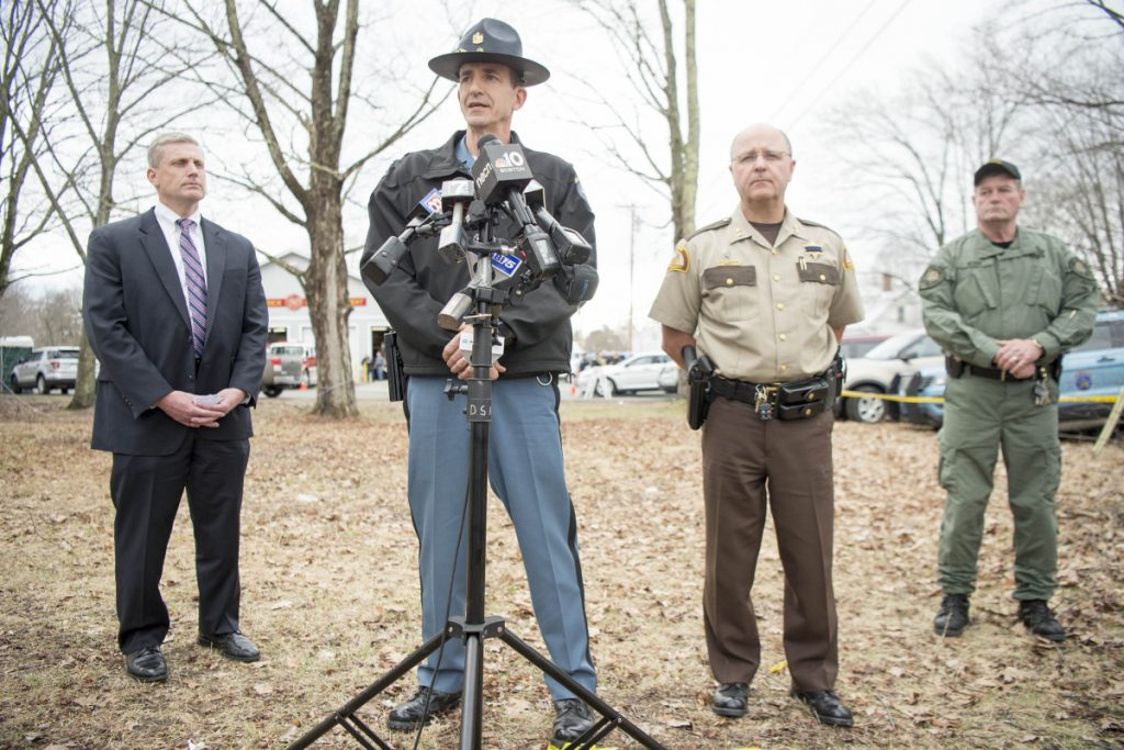 Man accused of killing Maine police officer arrested
