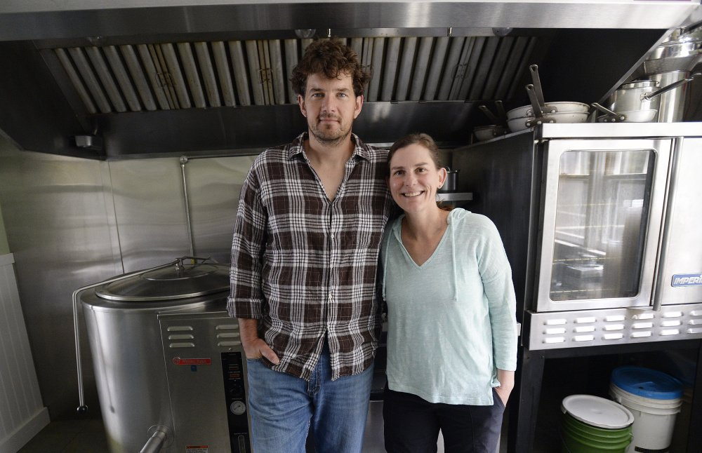 David Koorits and Jennifer Scism started Good To-Go in Kittery. Scism is a chef who has cooked at four-star restaurants in New York and once beat New York chef and television personality Mario Batali on