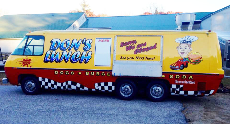 Craig Bernier needs a new location for his well-known Don's Lunch Van in Westbrook.