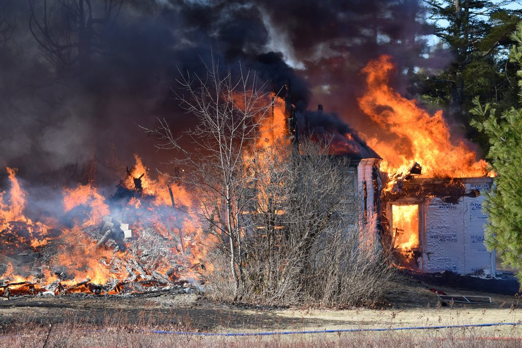 Two people died in this fire in Bar Harbor on Sunday, while two others escaped.