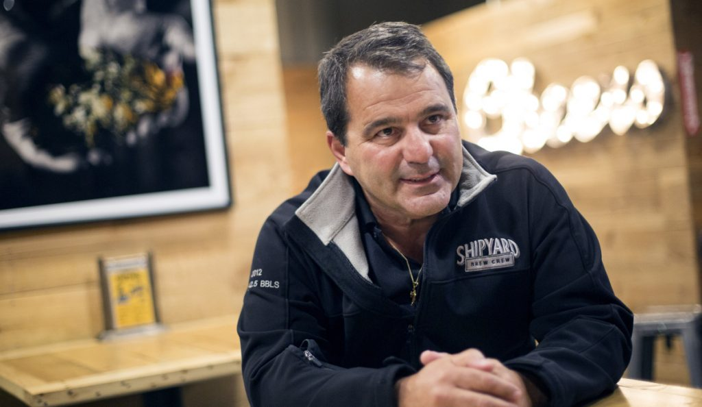 Fred Forsley, founder and president of Shipyard Brewing Company, said,