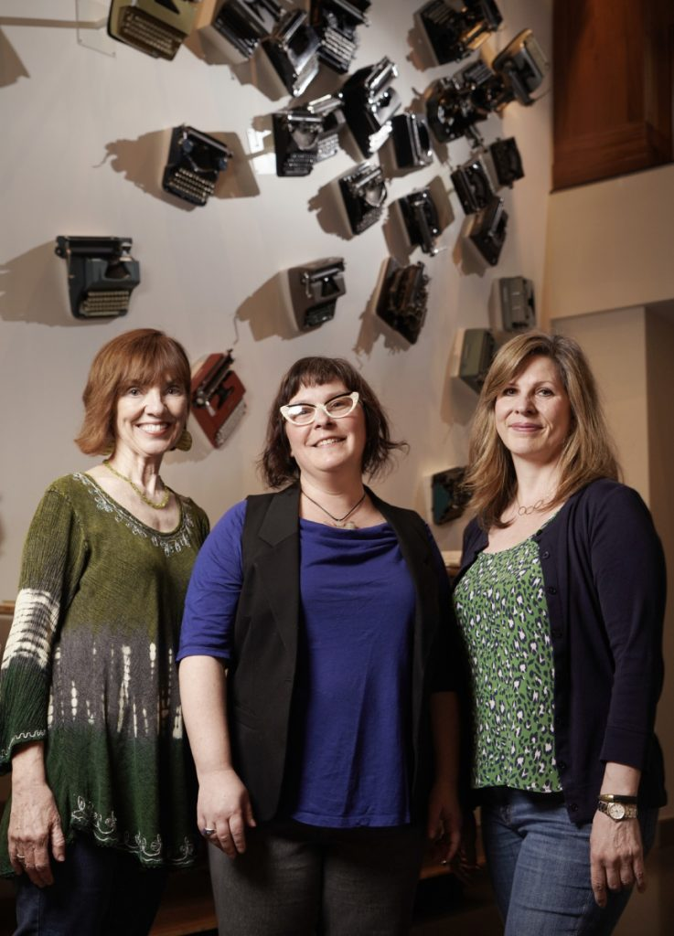Portland playwrights Monica Wood, Bess Welden and Callie Kimball are very different writers, bound by a love of theater and a desire to tell dramatic stories.
