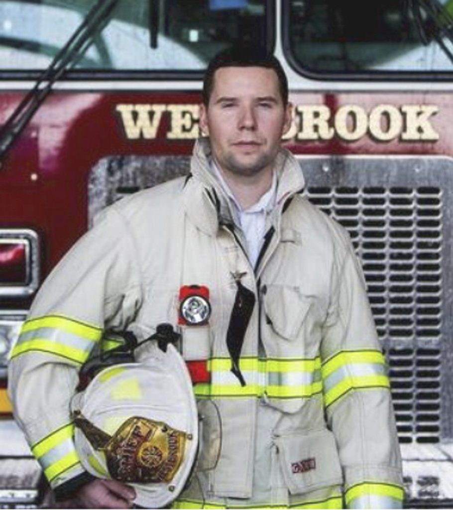 Westbrook Fire Chief Andrew Turcotte