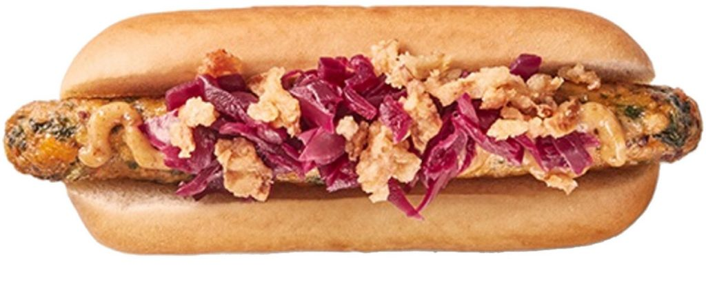 This vegan hot dog is racking up a 95 percent approval rating at the IKEA in Sweden, where it's being test marketed. The hot dog will be expanded to the in-store restaurants at all European IKEA stores in August and likely will show up in U.S. stores by the beginning of 2019.