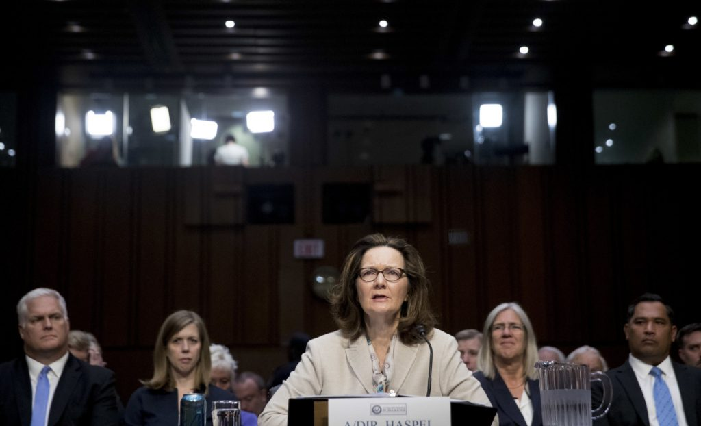 "Gina Haspel, President Trump's pick to lead the Central Intelligence Agency, has said that she has learned ""hard lessons"" since she helped oversee a secret Thailand detention site."