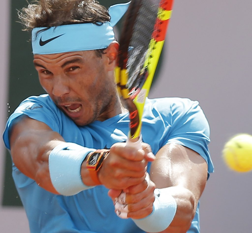 Rafael Nadal beat Guido Pella in the second round of the French Open on Thursday and will next face Richard Gasquet. Both men are 31, and first met when they were 12.