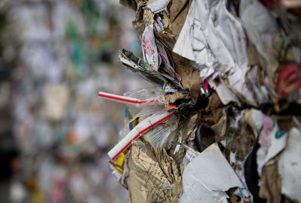 Ecomaine is asking residents to abide by Do and Don't guidelines in hopes of keeping contaminating materials out of their recycling waste, such as straws and plastic shopping bags.