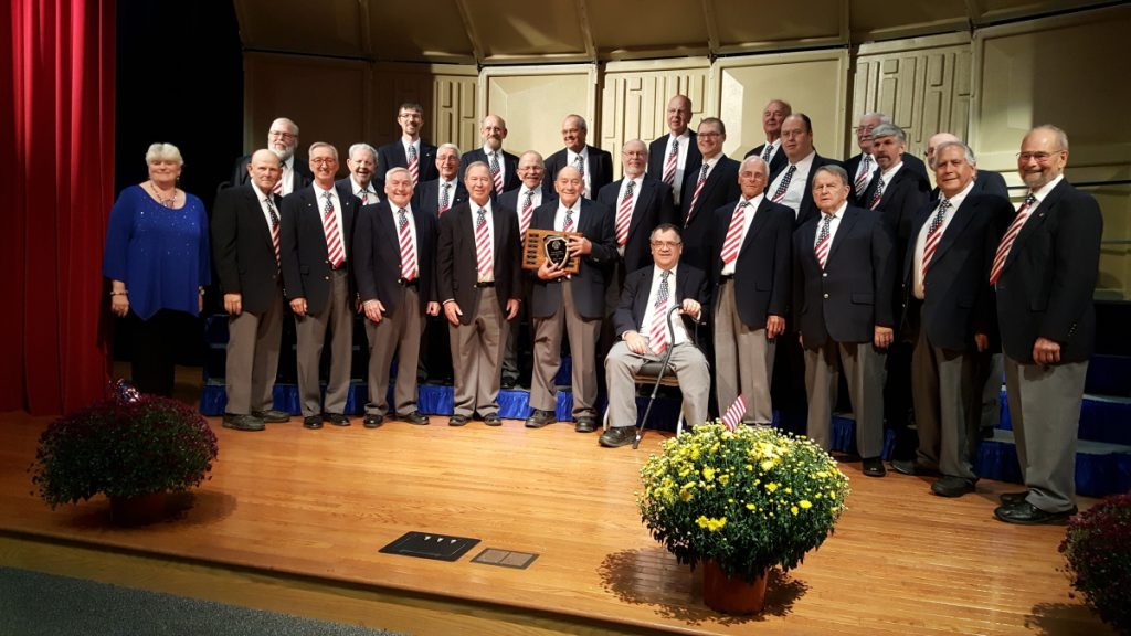 The Kennebec Valley Chordsmen Barbershop Chorus of Waterville.