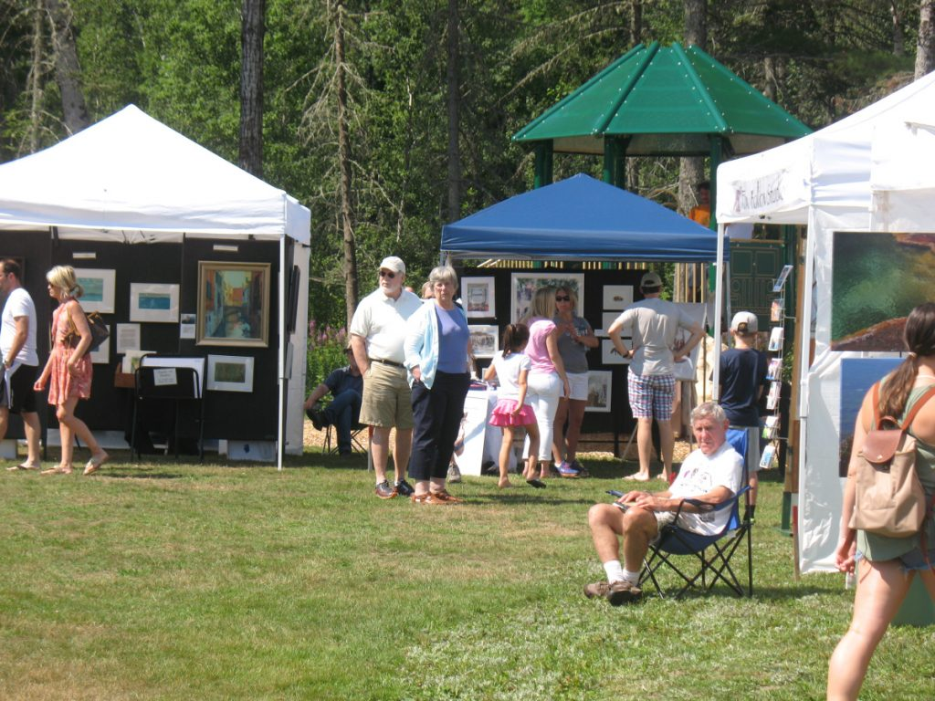 Artists are sought for Art In August, an open air arts and crafts show with cash prizes in Rangeley. The application deadline is May 31.