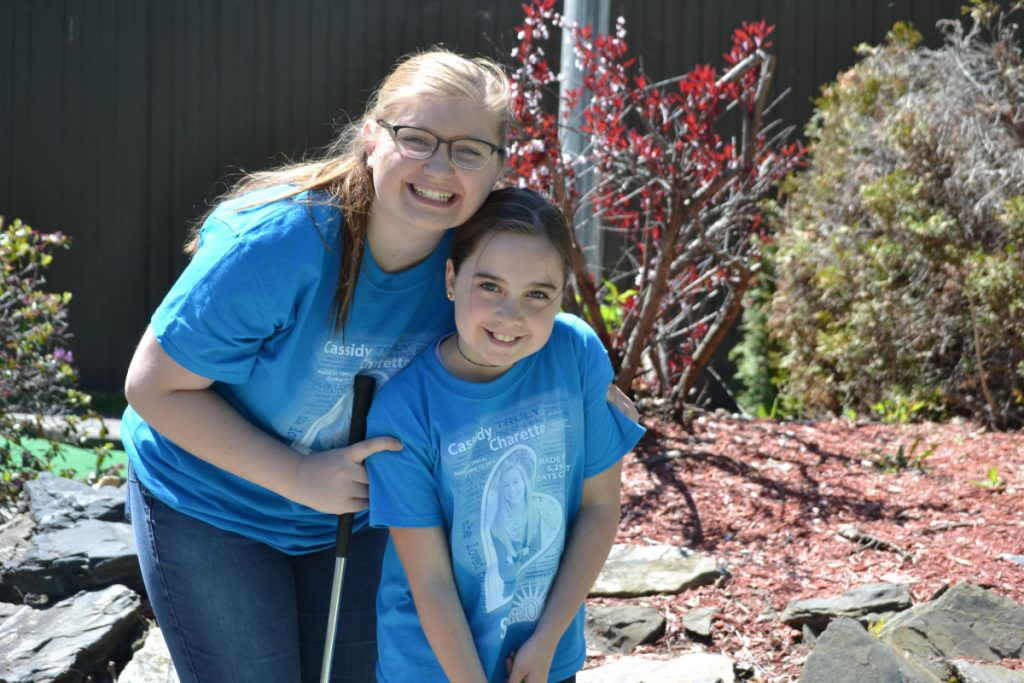 "Big Sister Anya Fegal and her ""Little"" Jayda Witham came out to support the program that brought them together by participating in last year's ""Putt 4 Cass"" at Gifford's Famous Ice Cream & Mini Golf in Waterville. The 2nd annual mini golf event will be held Saturday, May 19, 10 am to 2 pm.to benefit local Big Brothers Big Sisters of Mid-Maine ""ShineOnCass"" mentoring programs, established in honor and memory of Cassidy Charette."
