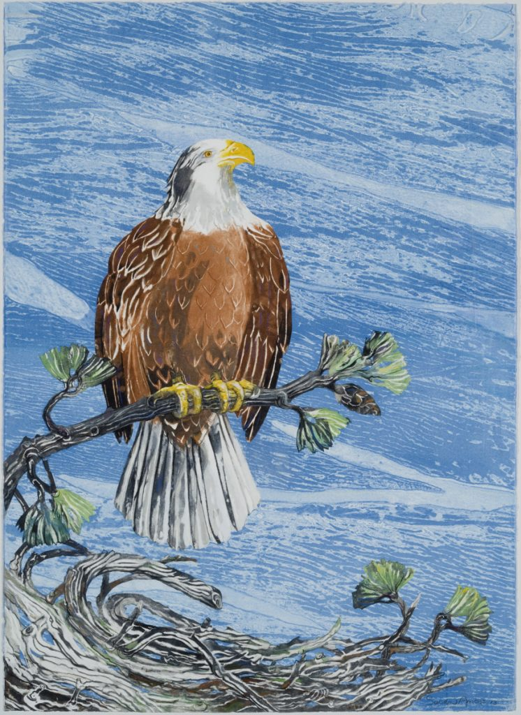 """Eagle Nest"" by artist  Susan Amons."