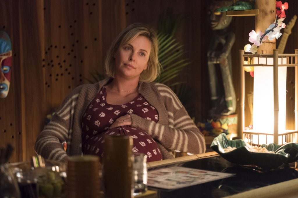 Charlize Theron in a scene from