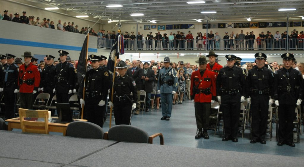 The state's 65 newest police officers, including five game wardens and three marine patrol officers, graduated Friday from the Maine Criminal Justice Academy in Vassalboro.