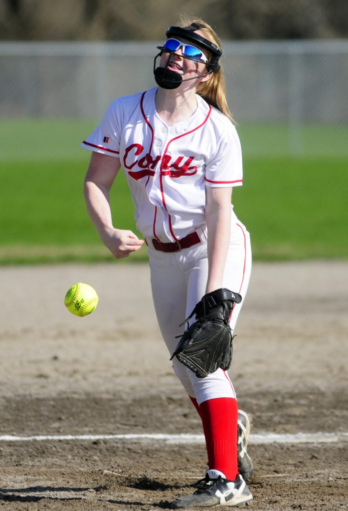 Gabby McGuire is one of two starting pitchers the Rams have leaned on this season.