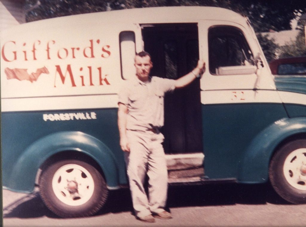 "Randall Gifford and his wife, Audrey, started out with a small dairy farm in Connecticut in 1954, moved to Farmington in 1971 and eventually founded Gifford's Famous Ice Cream that is sold up and down the Eastern Seaboard. In an interview with the Sun Journal, he called himself a ""dreamer."""