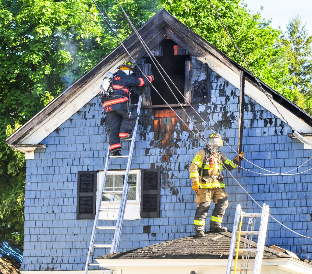 Apartments For Rent In Augusta Maine: Augusta Firefighters Battle Blaze At Apartment House