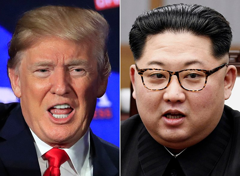 Trump announces date, place for summit with Kim, greets freed men