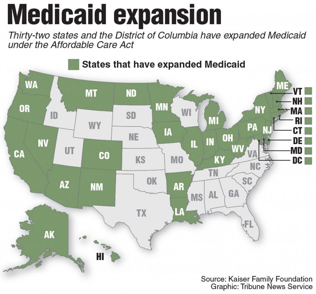Maine voters have approved Medicaid expansion, but the state has yet to implement it, and has been sued by an advocacy group aiming to compel the state to expand the program.