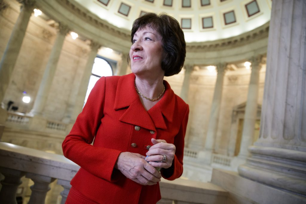 Republican Sen. Susan Collins