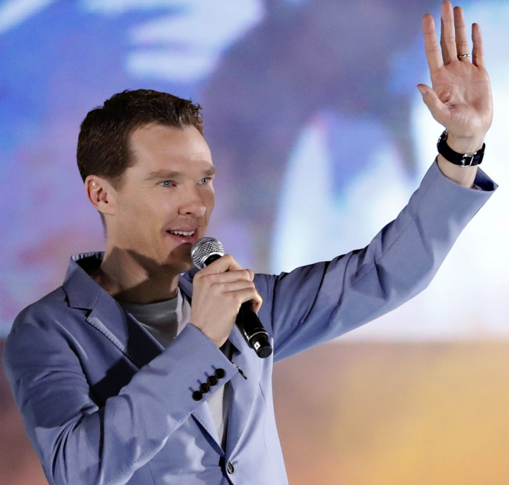 """Food-delivery firm Deliveroo has thanked Benedict Cumberbatch after the """"Sherlock"""" star reportedly fought off muggers who were attacking one of its cyclists."""