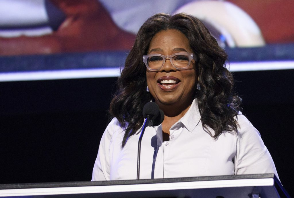 Oprah Winfrey has chosen a prison memoir for her book club.