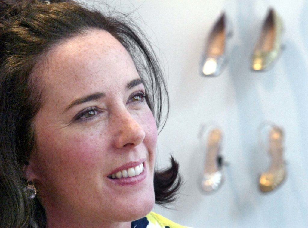 Designer Kate Spade, shown in 2004, has been found dead in her New York apartment in an apparent suicide.