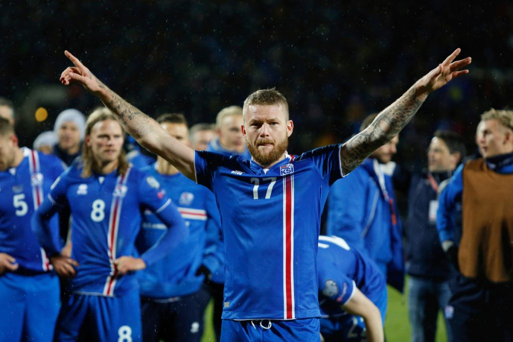 Iceland and captain Aron Gunnarsson face Argentina in their opening World Cup game on Saturday.