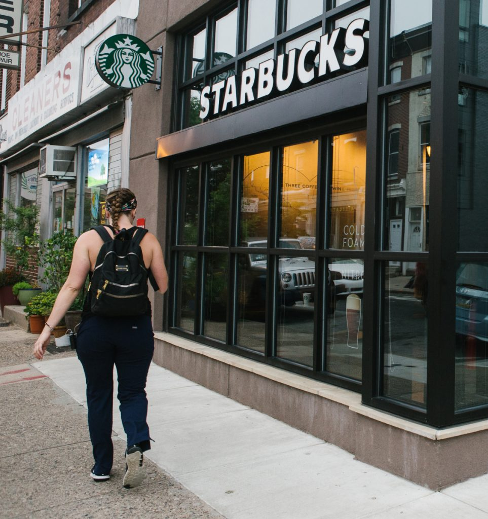 Starbucks expects sales to rise just 1 percent this quarter.