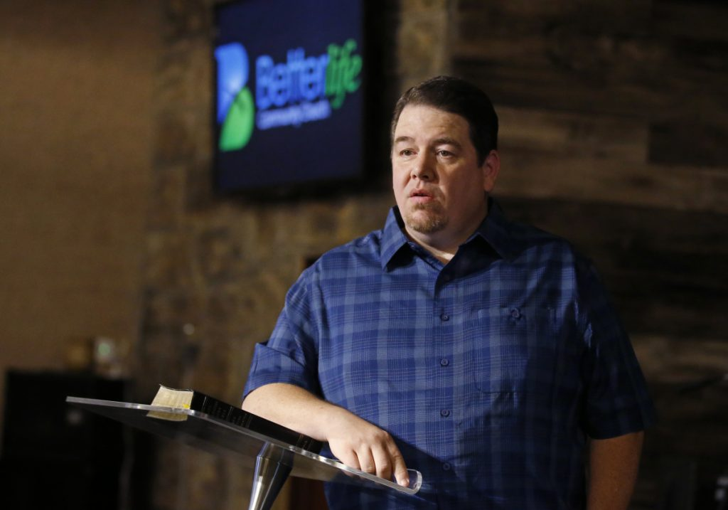 Danny Daniels, pastor at the Better Life Community Church in Lindsay, Okla., is among a growing group of conservative Republican voters who have shifted their position in favor of medical marijuana.