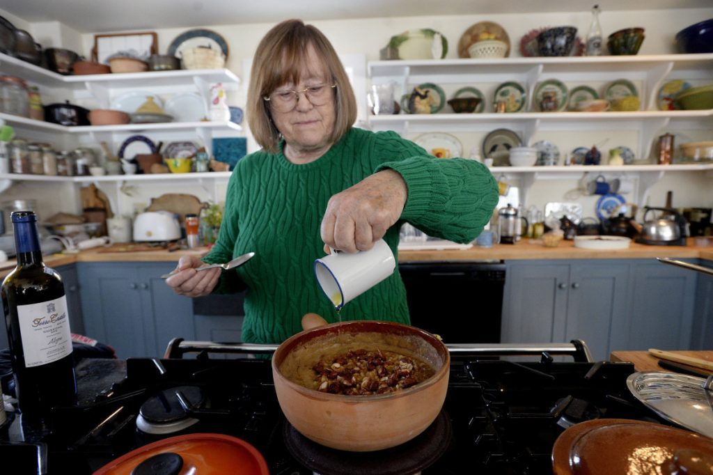 Nancy Harmon Jenkins, a nationally known olive oil and Italian cuisine expert who lives in Camden, was honored with the Literary and Culinary Achievement Award.