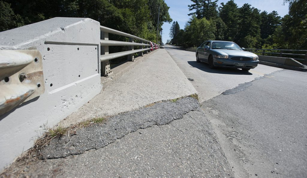 The Thayer Memorial Bridge over Messalonskee Stream on Gilman Street will be closed for repairs this summer.