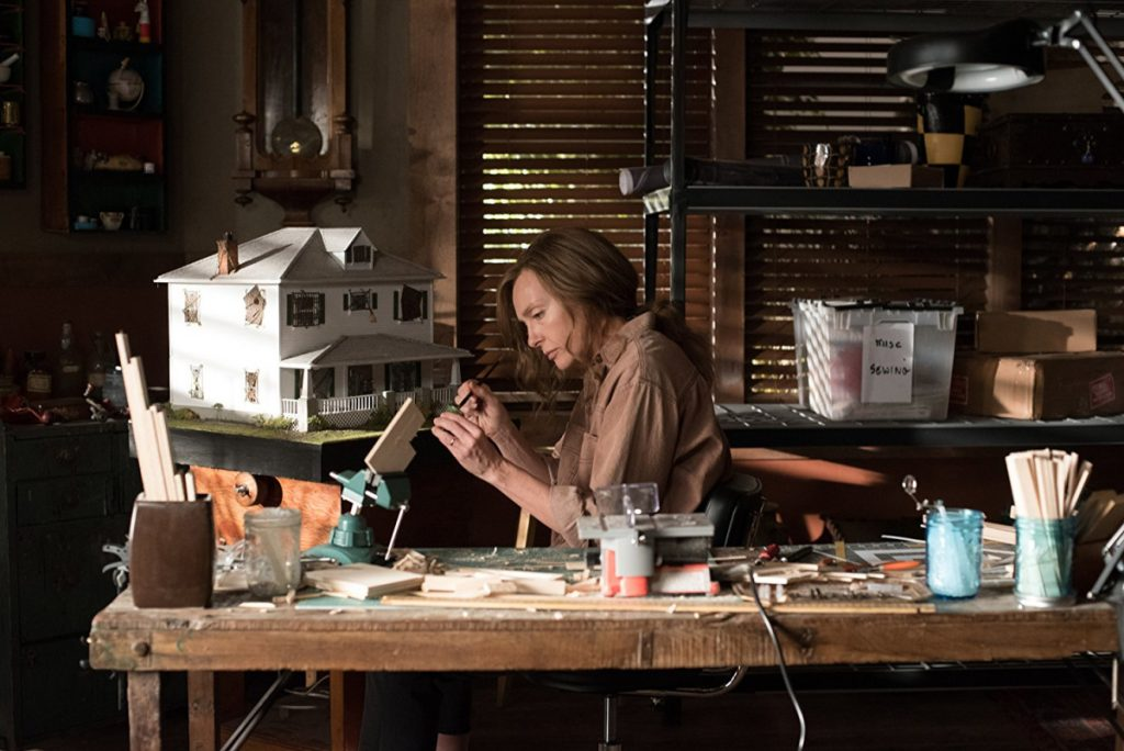 "Toni Collette in ""Hereditary"" (2018)."
