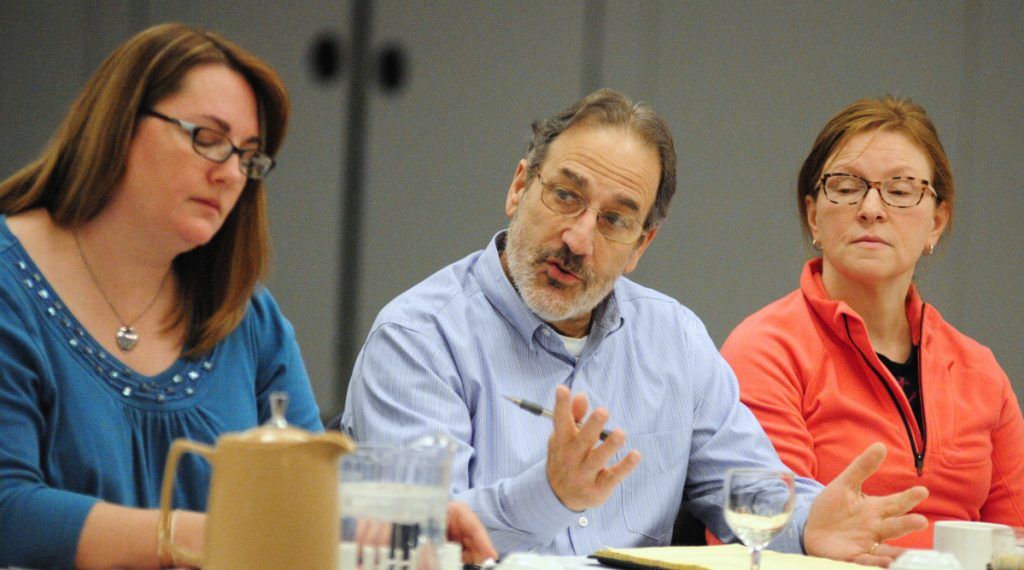 School Superintendent James Anastasio, seen during a goal-setting meeting on Jan. 28, 2017, said budget articles on the school board agenda for Wednesday won't be acted upon if voters don't approve the school budget during an election vote on Tuesday. If voters do approve, the board will hold a final vote.