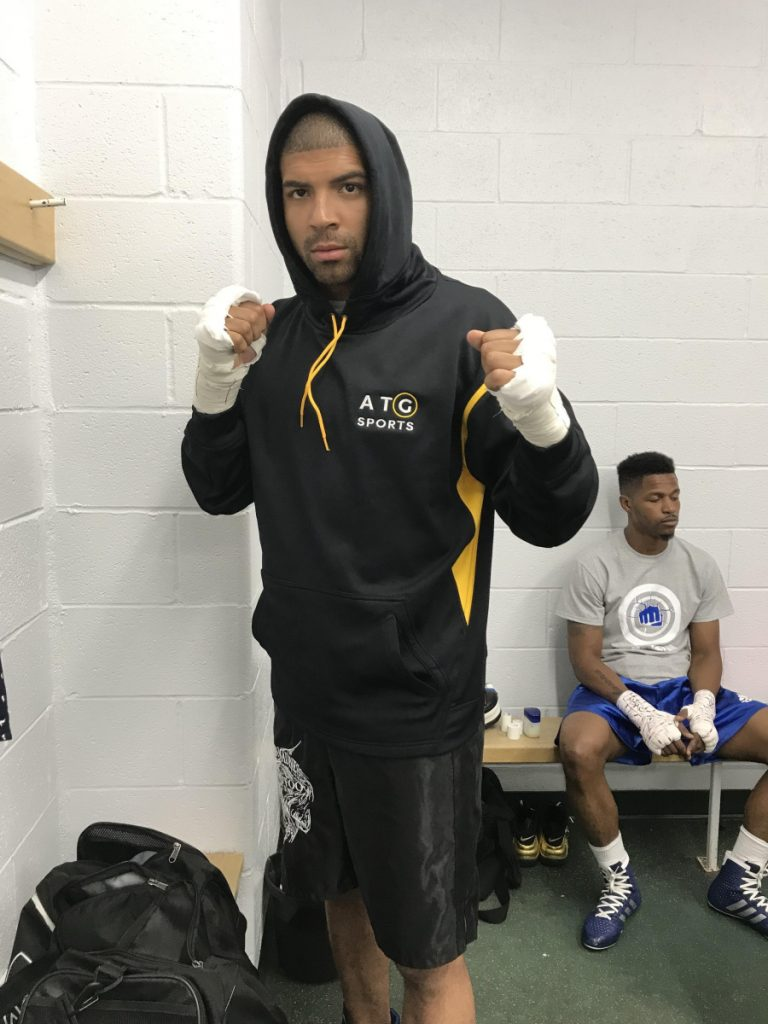 Josh Jones, a former standout basketball player at Erskine Academy, is trying to make it as a professional boxer.