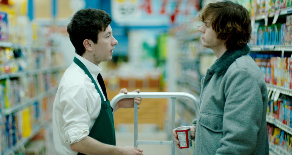 "Barry Keoghan, left, and Evan Peters play partners in crime in the fact-based ""American Animals."""