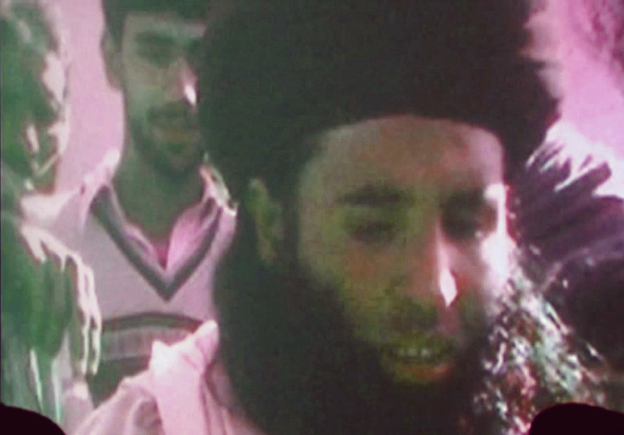 This image of Mullah Fazlullah was taken from a video broadcast on Nov. 7, 2013.