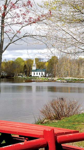 The North end of the lake offers a boat landing, ice cream and paddle boats, gas and church. Susan Varney photo