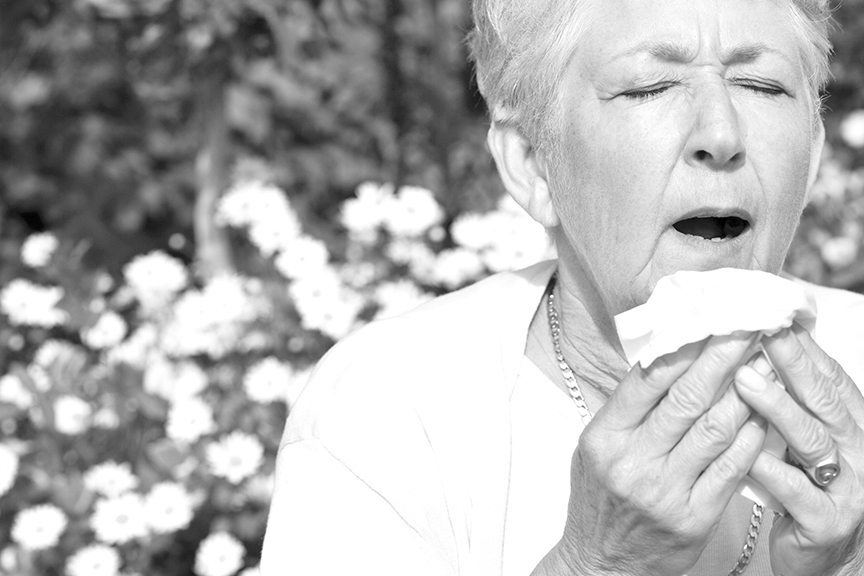 Allergies, the irritating signs of summer. Contributed photo