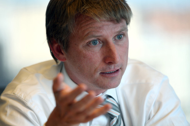 Jonathan Bush, co-founder chairman and CEO of Athenahealth Inc., in Washington, D.C. on Oct. 5, 2011.