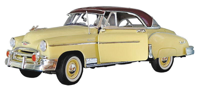 The 1950 Chevy Bel Air.