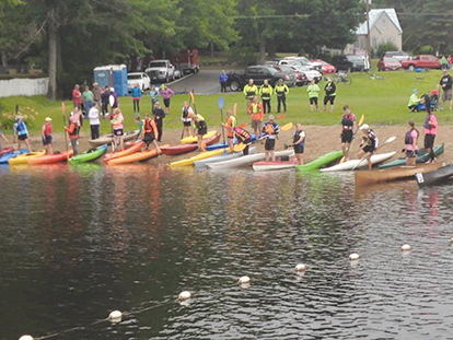 For an exciting finish to Oakfest, get a team together for Sunday's Paddle, Pedal and Pound the Pavement Triad, beginning at 9 a.m. at the Oakland Boat Landing.  Contributed photo