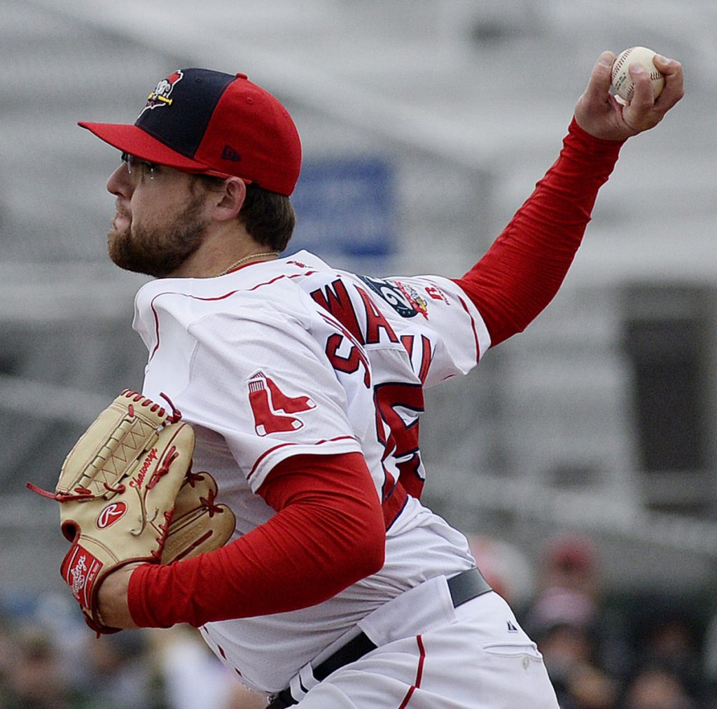 Mike Shawaryn won't be in the Eastern League All-Star Game, but he's been the most consistent starter in a decent Portland Sea Dogs rotation.