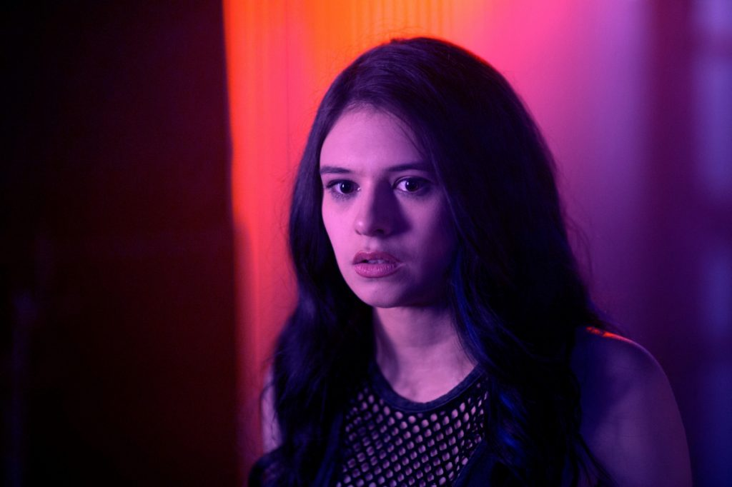 "Nicole Maines appears in the upcoming film ""Bit."" She also has acted in other productions, and her father says she now plans to focus on acting full time."