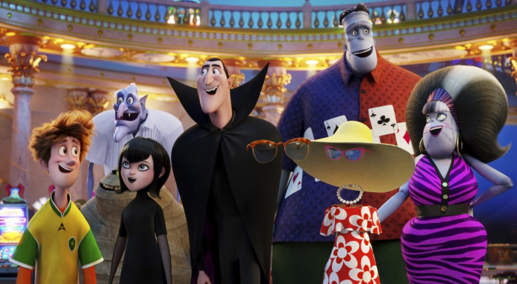 "A scene from ""Hotel Transylvania 3: Summer Vacation,"" which earned $44.1 million from North American theaters."