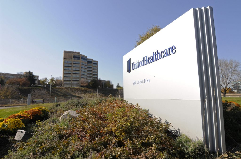 UnitedHealth Group Inc.'s campus sits in Minnetonka, Minn. UnitedHealth Group reported earnings of $2.92 billion for the second quarter on Tuesday. (, File)