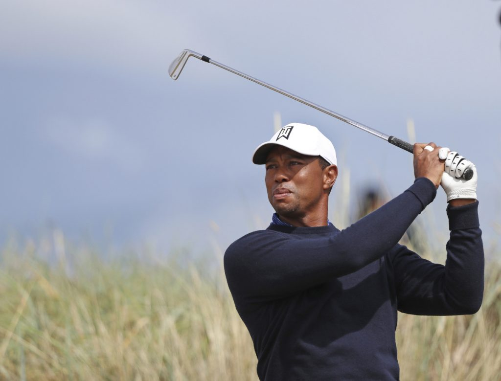 Tiger Woods has won the British Open three times, including back to back in 2005 and 2006, but finished seventh and 12th in two previous Opens at Carnoustie.