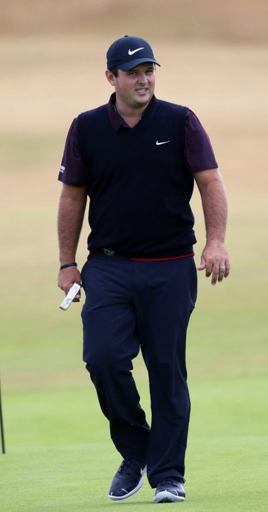 Patrick Reed is taking a relaxed approach to the British Open after winning the Masters in April.
