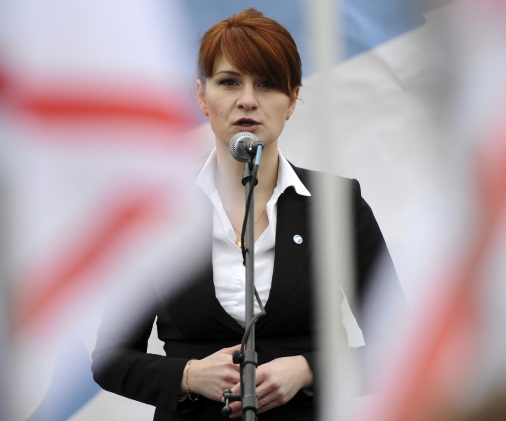 Russian national Maria Butina traded sex for a position in a special-interest organization, according to U.S. prosecutors.