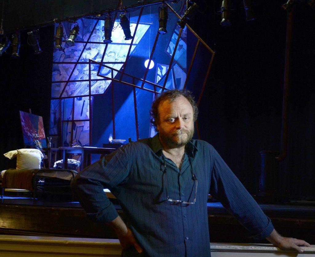 """Tony Award-winning set designer Chris Akerlind enjoys being able to work close to his home on Munjoy Hill. The production of """"The Marriage of Figaro"""" at Merrill Auditorium will be his third for Opera Maine in recent years."""