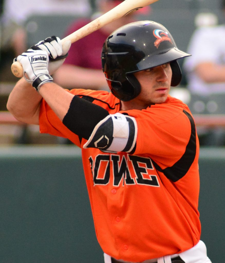 Ryan McKenna was promoted to Double-A Bowie a little more than a month ago, and hopes to be part of the Orioles' rebuild.